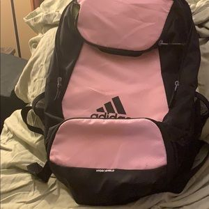 Adidas pink Stadium team backpack
